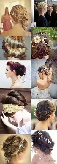 Romantic updo for weddings and holidays