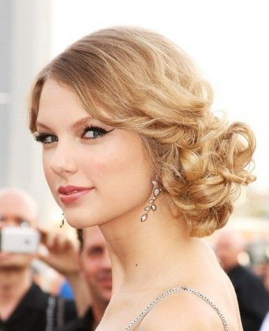 Nice prom hairstyle for shoulder length hair