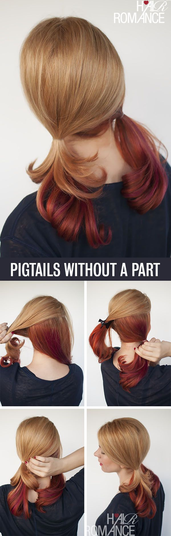 Pigtails without part line