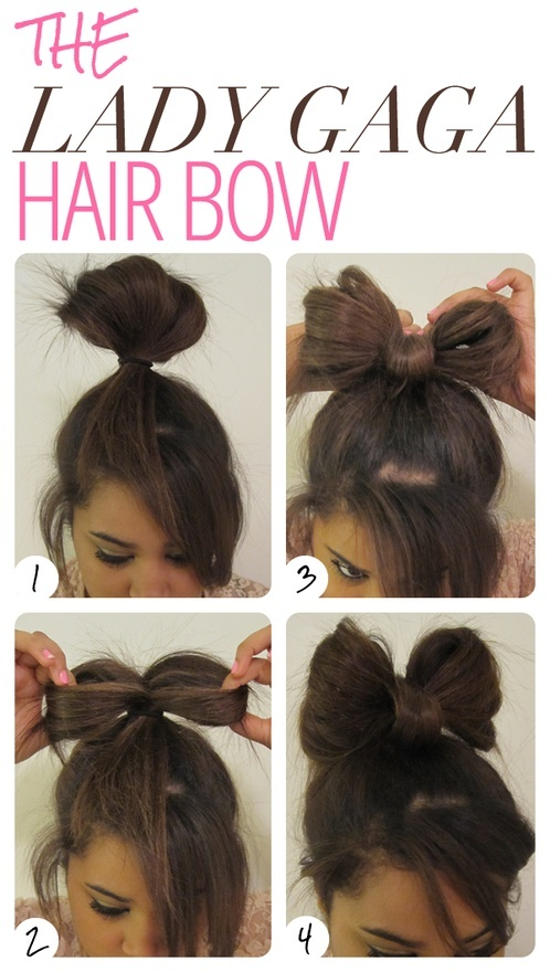 Fast and easy way to make a Lady Gaga hair bow
