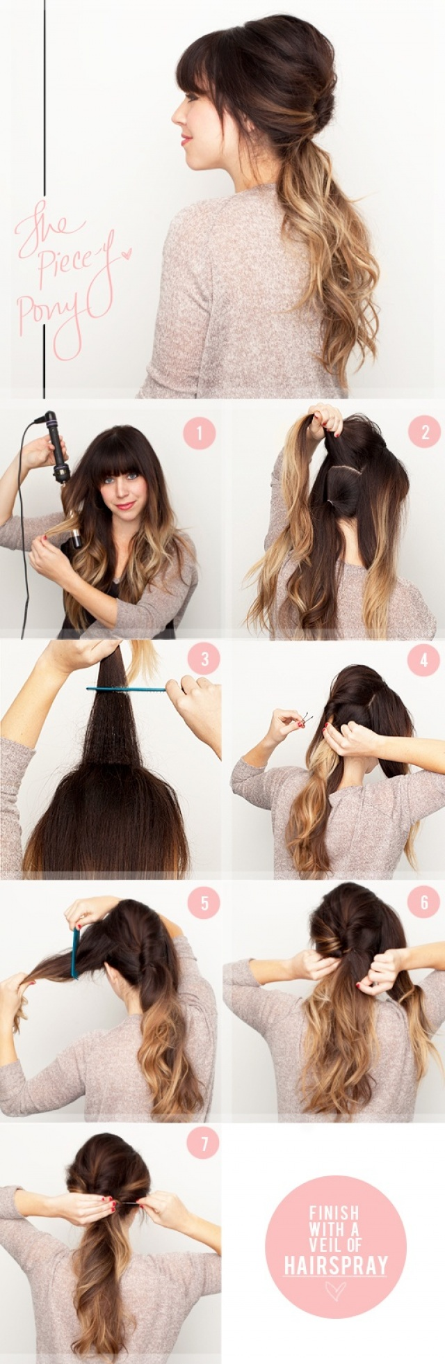 The vintage pony - 15 ways to make cute ponytails