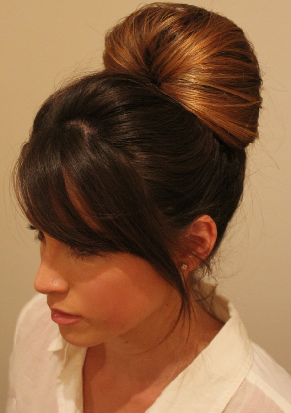 Easy hair updo about