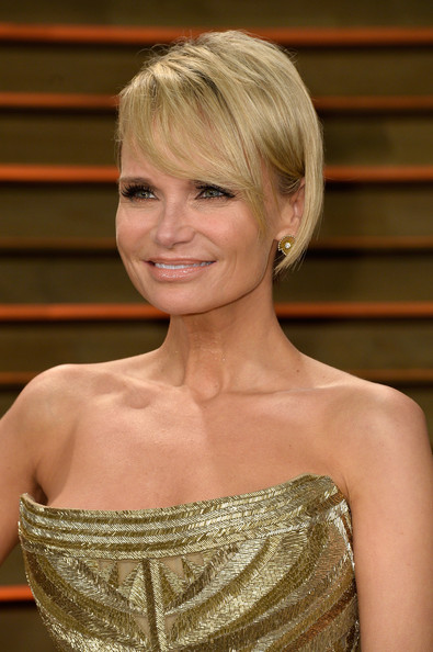 Kristin Chenoweth short haircut with bangs