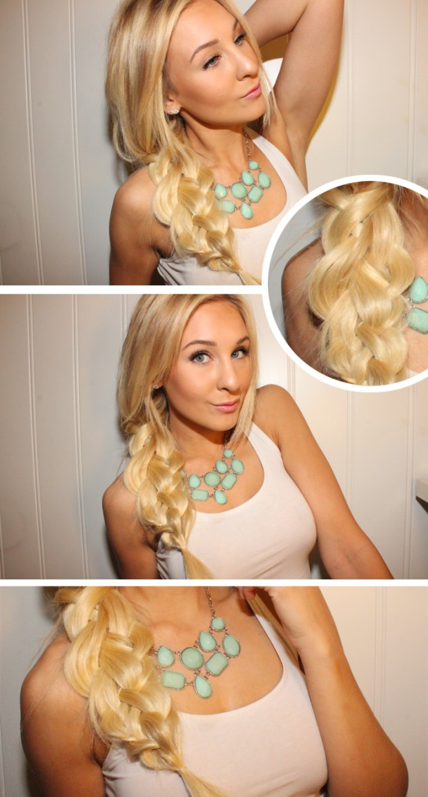 Messy Summer Braid tutorial about