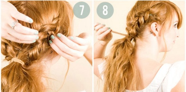 The boho braid over