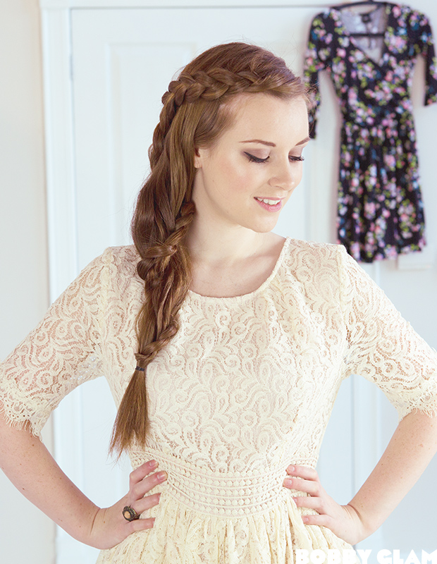 Lace Braid Hair Tutorial about