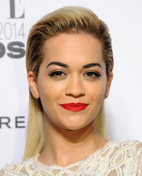 Chic hairstyles for elegant women: Rita Ora Long Straight Cut