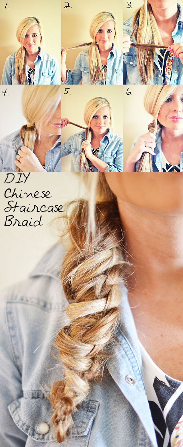 stairs braid