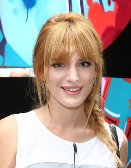 "Bella Thorne Fishtail Braid ""width ="" 458 ""class ="" size-full wp-image-19435"