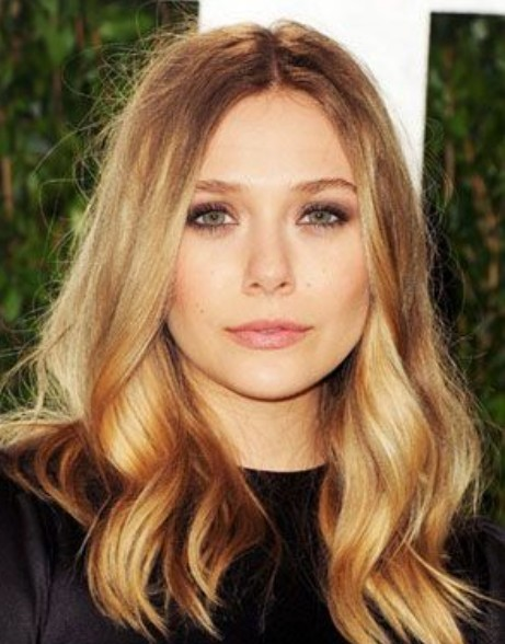 Dark blonde ombre hair