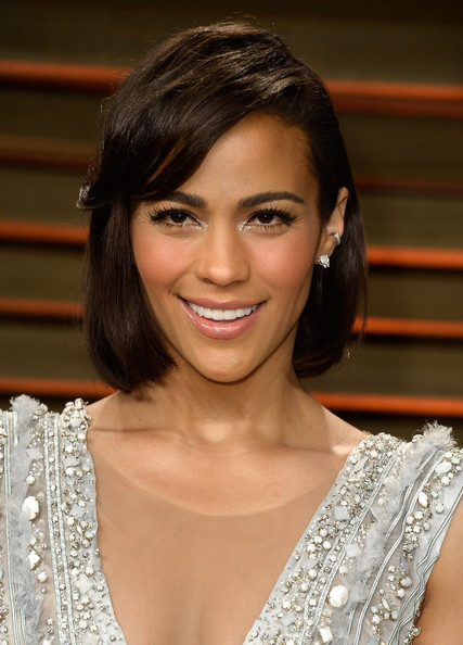 Best hairstyles for super mothers: Paula Patton Bob