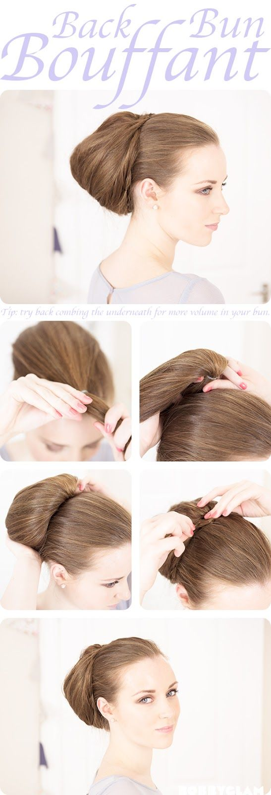 5 bouffant hairstyle tutorials for a glamorous look