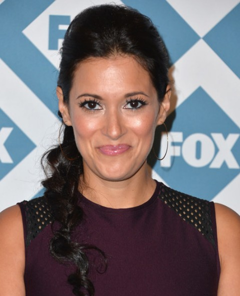 Angelique Cabral Long Braid without bangs / Getty Images