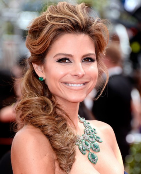 Maria Menounos Loose Fishtail Braid / Getty Images