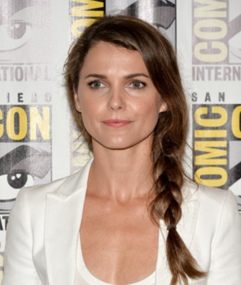 Keri Russell Side Braid / Getty Images