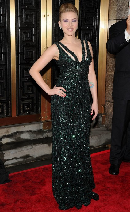 Scarlett Johansson at the 2010 Tony Awards