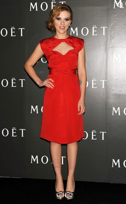 Scarlett Johansson at Moet & Chandon's Tribute to the Cinema, 2009