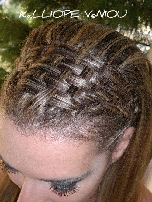 Top basket braid