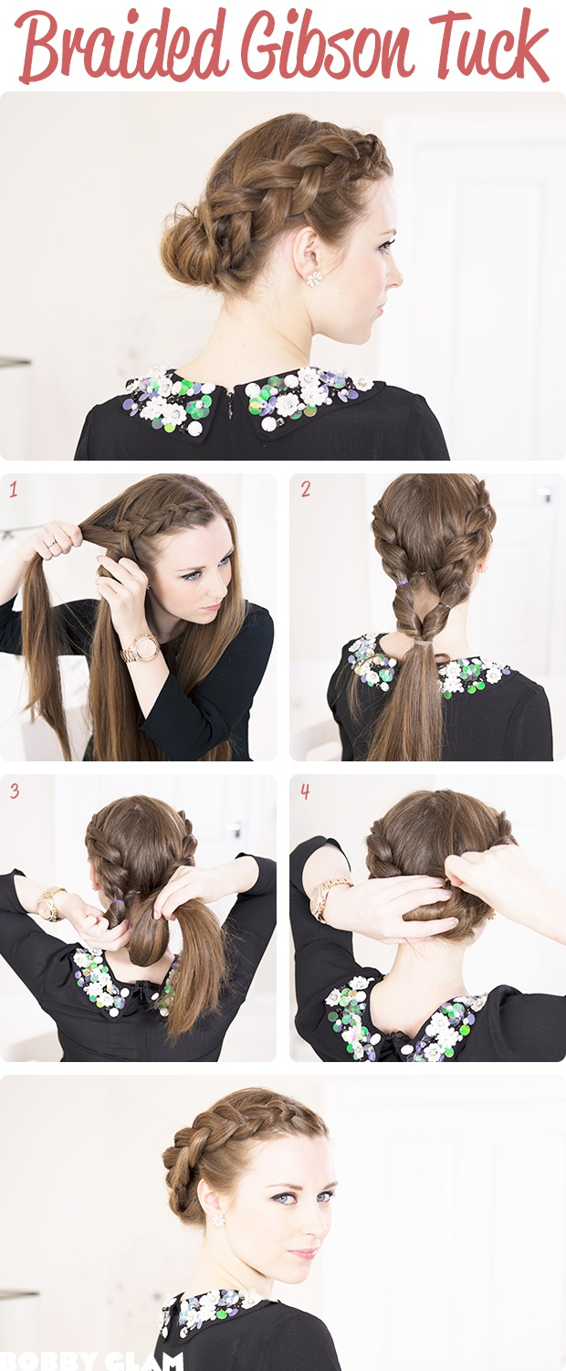 Beautiful crown braid
