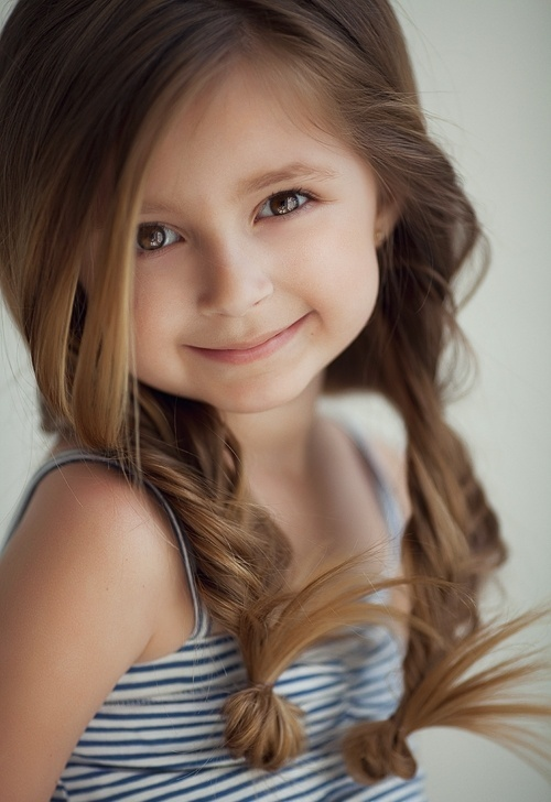 A collection of 25 adorable hairstyles for little girls