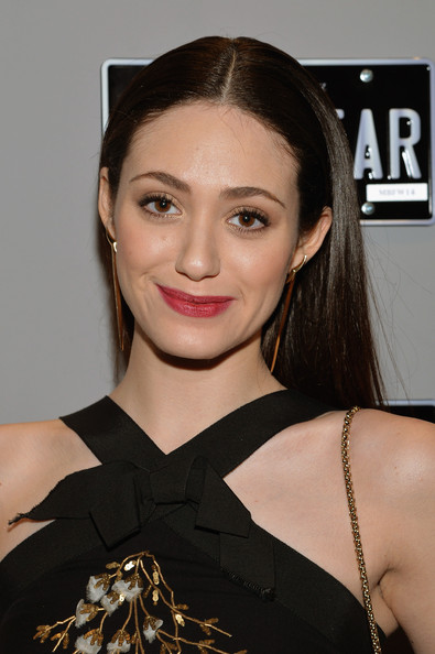 Emmy Rossum Long middle section