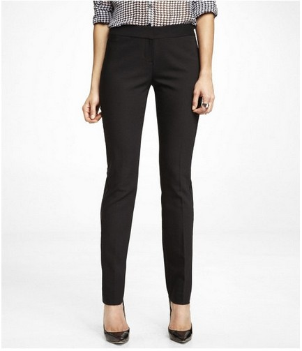 EXPRESS SLIM LEG COLUMNIST TUXEDO PANTS