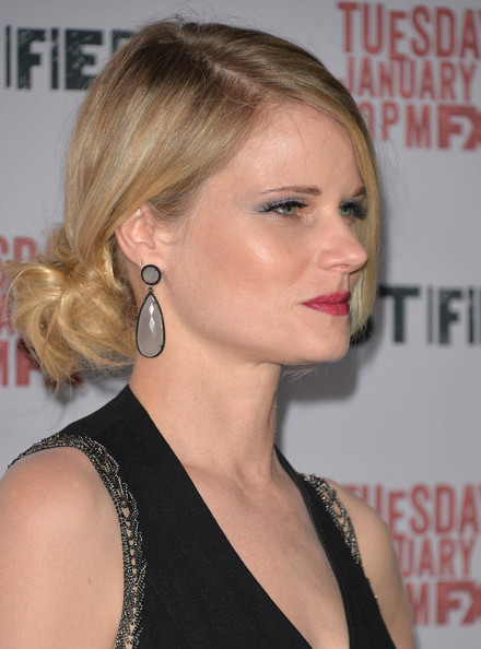 Romantic hairstyles for the bottom updo for every occasion: Joelle Carter Hair Knot