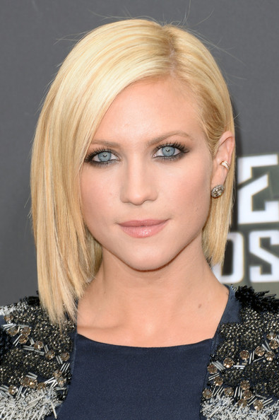 Brittany Snow Short Straight Cut