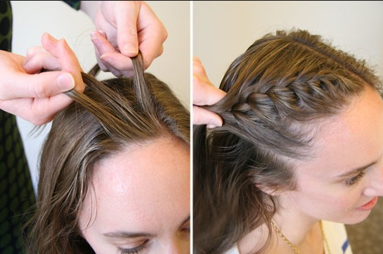 15 braided bangs tutorial: how to hit french braids?