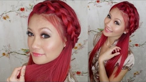 15 Tutorial for braided bangs: Trendy vacation hairstyles for long hair