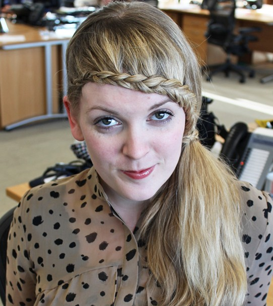 15 Braided Bangs Tutorial: Sweet Braided Hairstyles with Low Ponytails