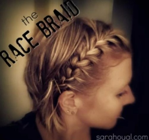 15 Braided Bangs Tutorial: Short Hairstyles for Braided Bangs