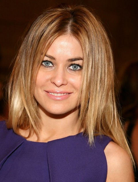 Carmen Electra Hairstyles: Layered Haircut