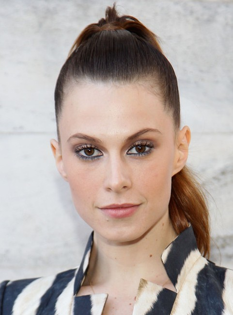 Elettra Wiedemann Long Hairstyle: High Ponytail