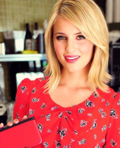 Dianna Agron Hairstyles: Medium Haircut
