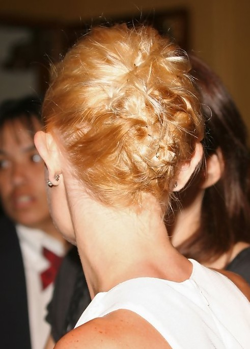Kate Bosworth Updo Hairstyle: Pinned Hair