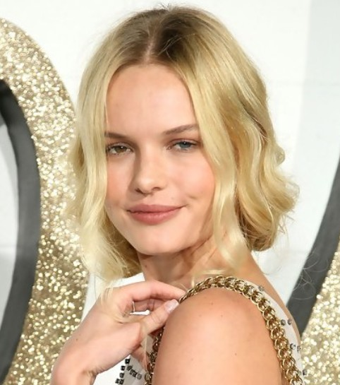 Kate Bosworth Updo Hairstyle: Pinned Hair for Picture Day