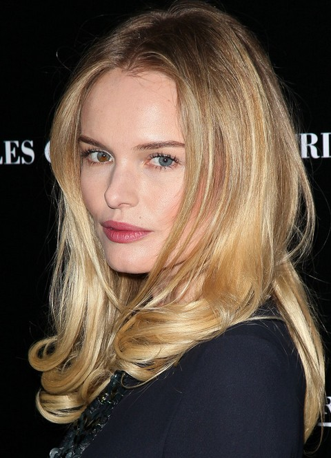 Kate Bosworth Long Hairstyle: Midsection