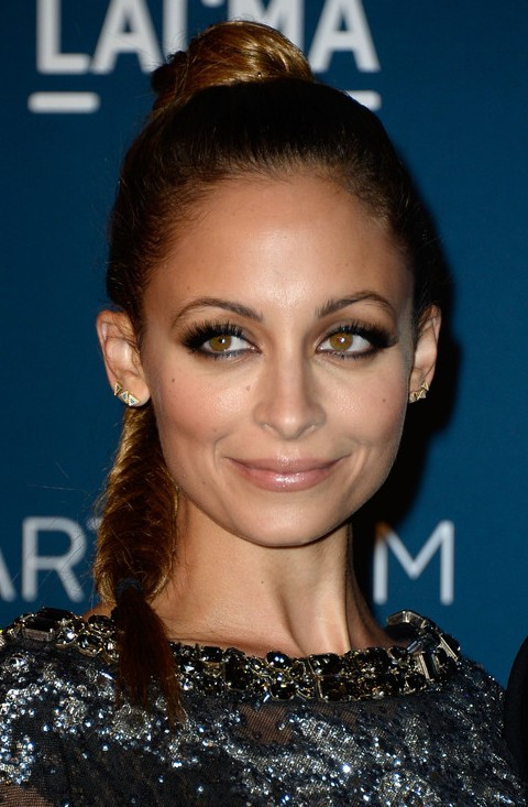Nicole Richie Hairstyles: Long Braided Hairstyle