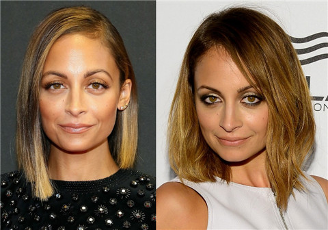 Nicole Richie Hairstyles: Medium Haircut