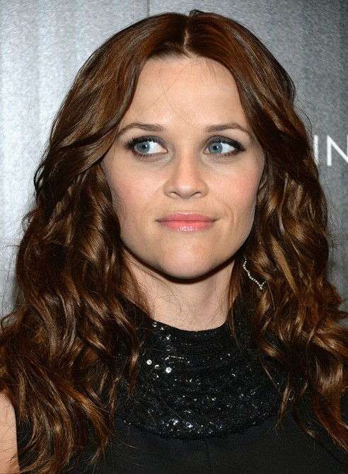 Reese Witherspoon Long Hairstyle: Brown Waves