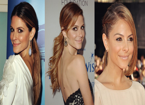 Maria Menouno's Hairstyles: Sweet Ponytail