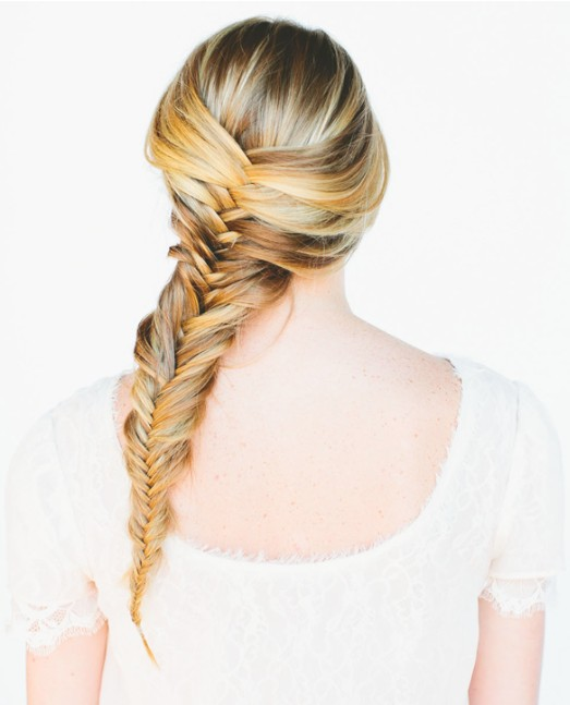 20 tutorials on braided hairstyles: fishtail braid for women and girls
