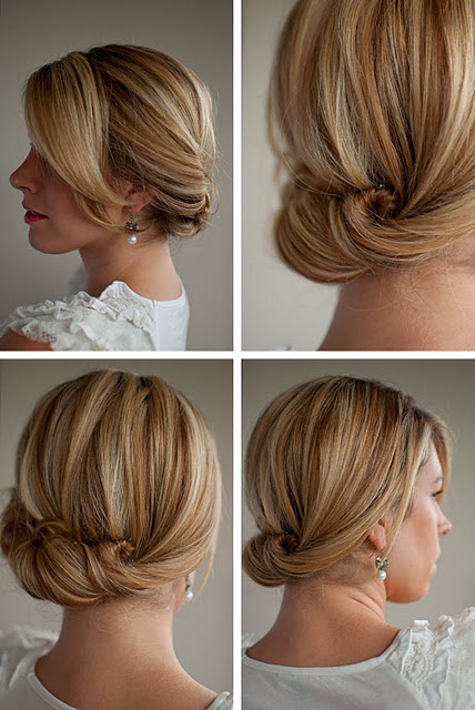 Twist and Tuck Bun hairstyle