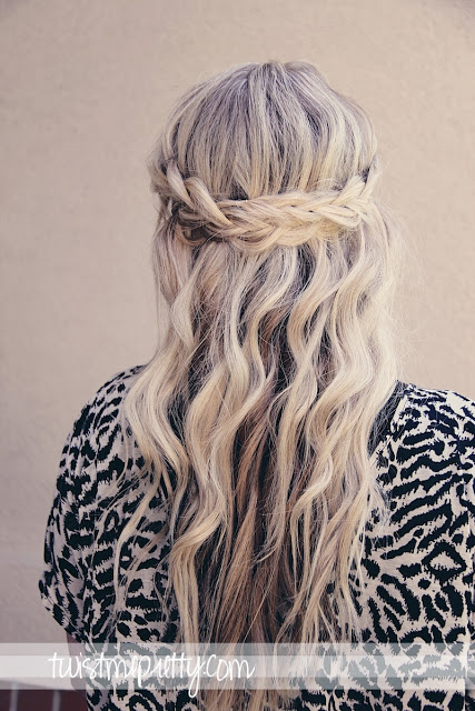 Braided crown over
