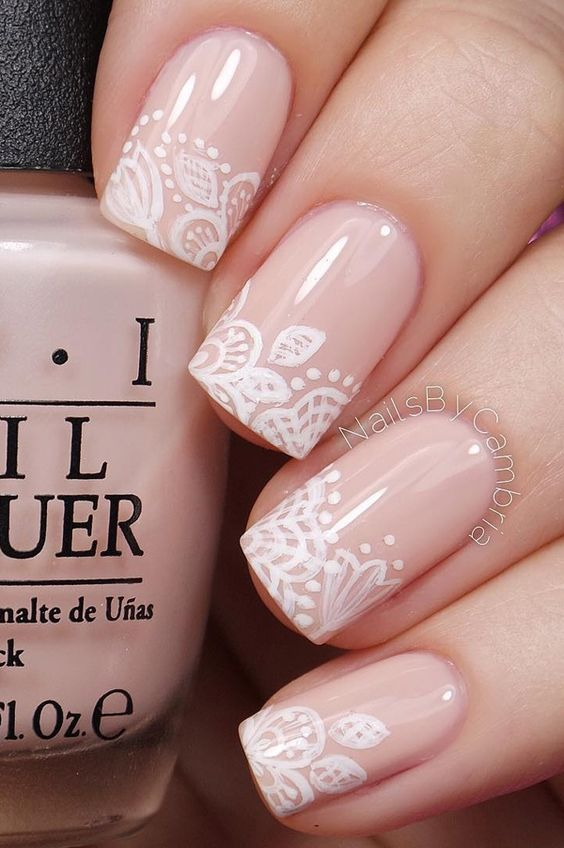 20 fabulous wedding nail designs
