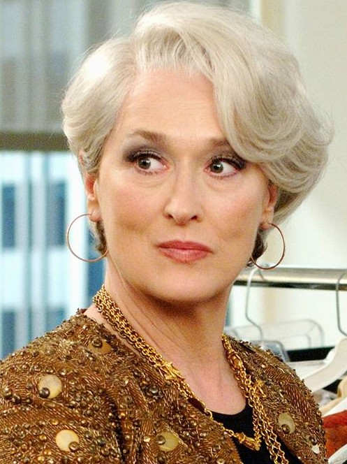 Meryl Streep Bob hairstyle for women over 50