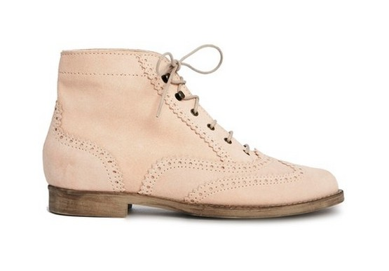 ASOS WARNING Suede Lace Up Ankle Boots