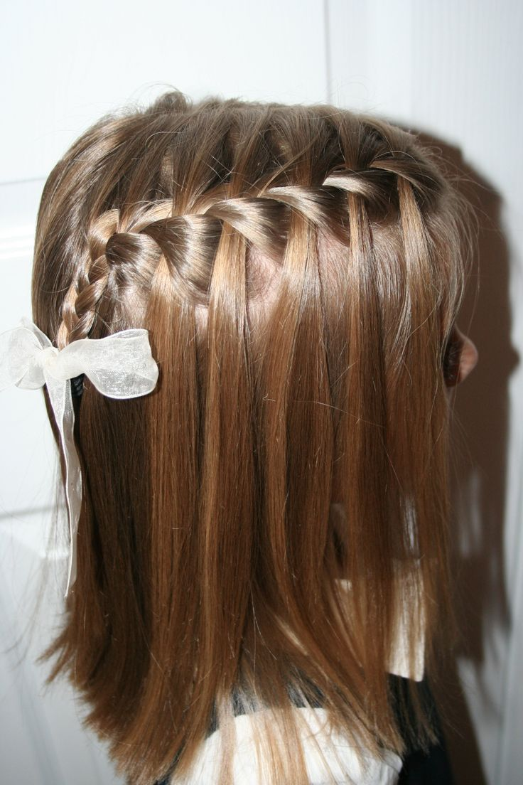 French Braid waterfall