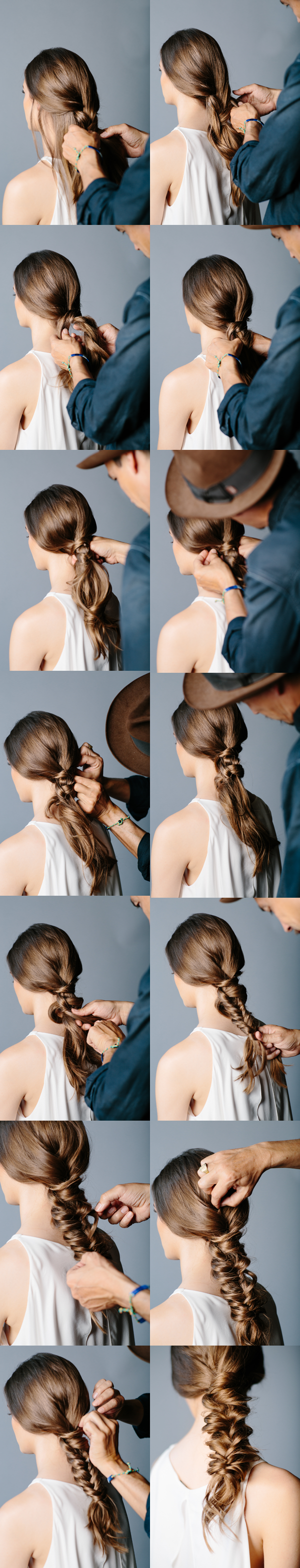 Beautiful tutorial for braided hairstyles